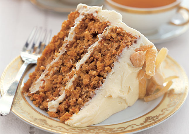 Carrot Cake Finely Grated